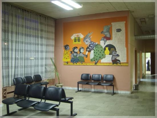 Детская в стиле больницы